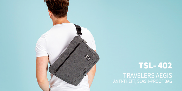 [TSL-402] TRAVELERS AEGIS MESSEMGER BAG★12월12일발송★
